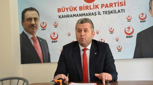 BBP Genel Başkan Yardımcısı Yardımcıoğlu: Basın ve Medya Sektörüne de Kira Desteği Sağlanmalı!