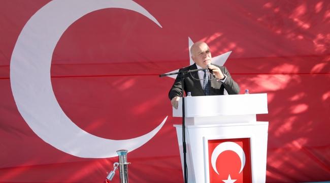 """Başkan Sekmen; """"Şehitlerimiz Aziz Milletimizin Şeref Payeleridir"""""""