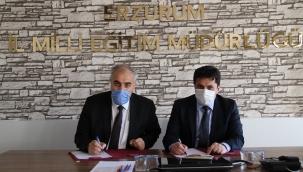 """Erzurum'da """"Minik Eller Toprakla Buluşuyor"""""""