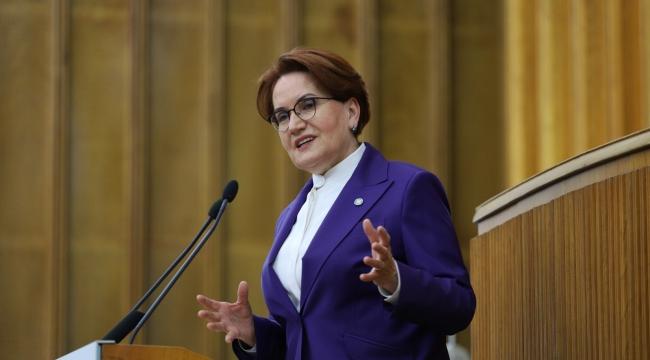 İYİ Parti Genel Başkanı Meral Akşener, grup toplantısında açıklama yaptı