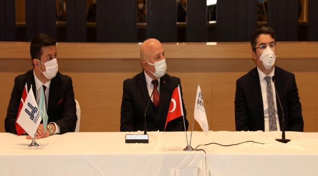 Büyükşehir ve MNG Holding'ten Fuar Merkezi İle İlgili İşbirliği Protokolü