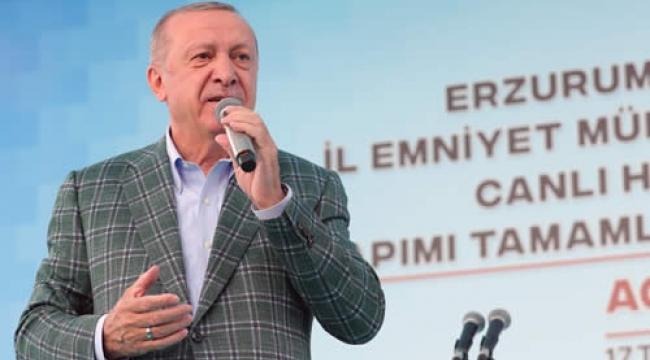 Cumhurbaşkanı Erdoğan Erzurum'da Toplu Açılışlar Yaptı
