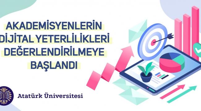 Eğitimcilerin Dijital Yeterlilikleri Türkiye'de İlk Kez Atatürk Üniversitesinde Değerlendirilmeye Başlandı