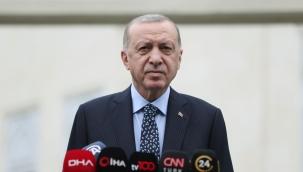 Cumhurbaşkanı Erdoğan, cuma namazının ardından basın mensuplarına açıklamalarda bulundu
