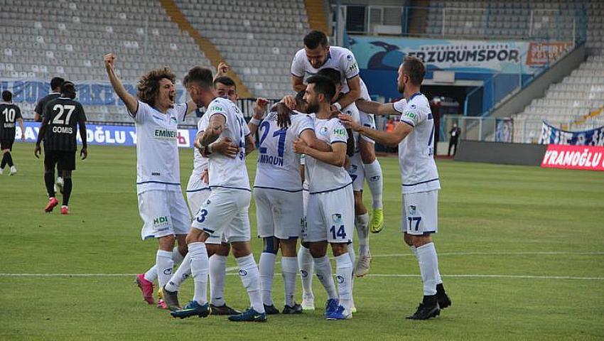 B.B.Erzurumspor Süper Lig'de!